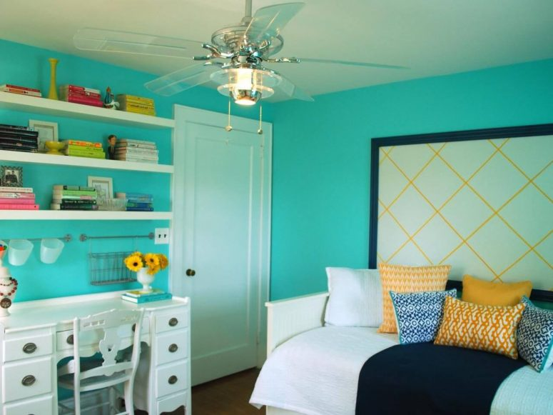 turquoise paint colors bedroom 51 stunning turquoise room ideas to freshen up your home 17597