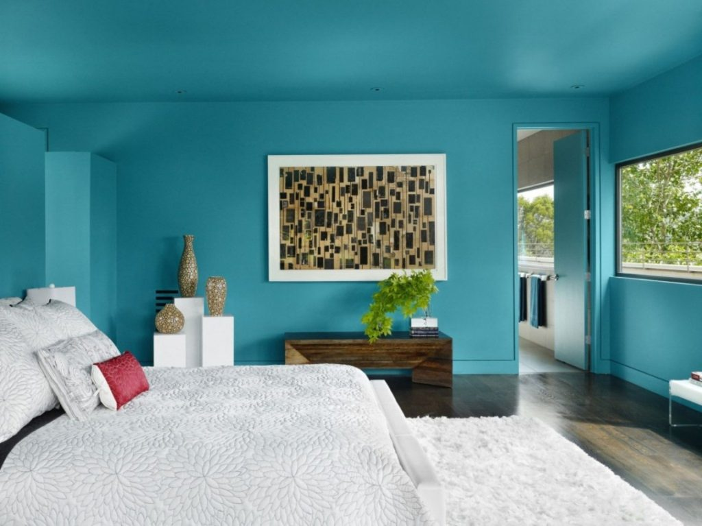 Delicieux Vibrant Color. Turquoise Bedroom Decor