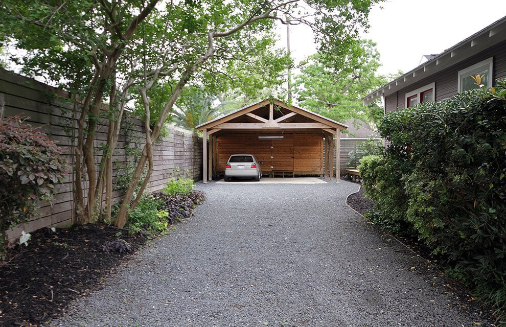 contemporary driveway pavers