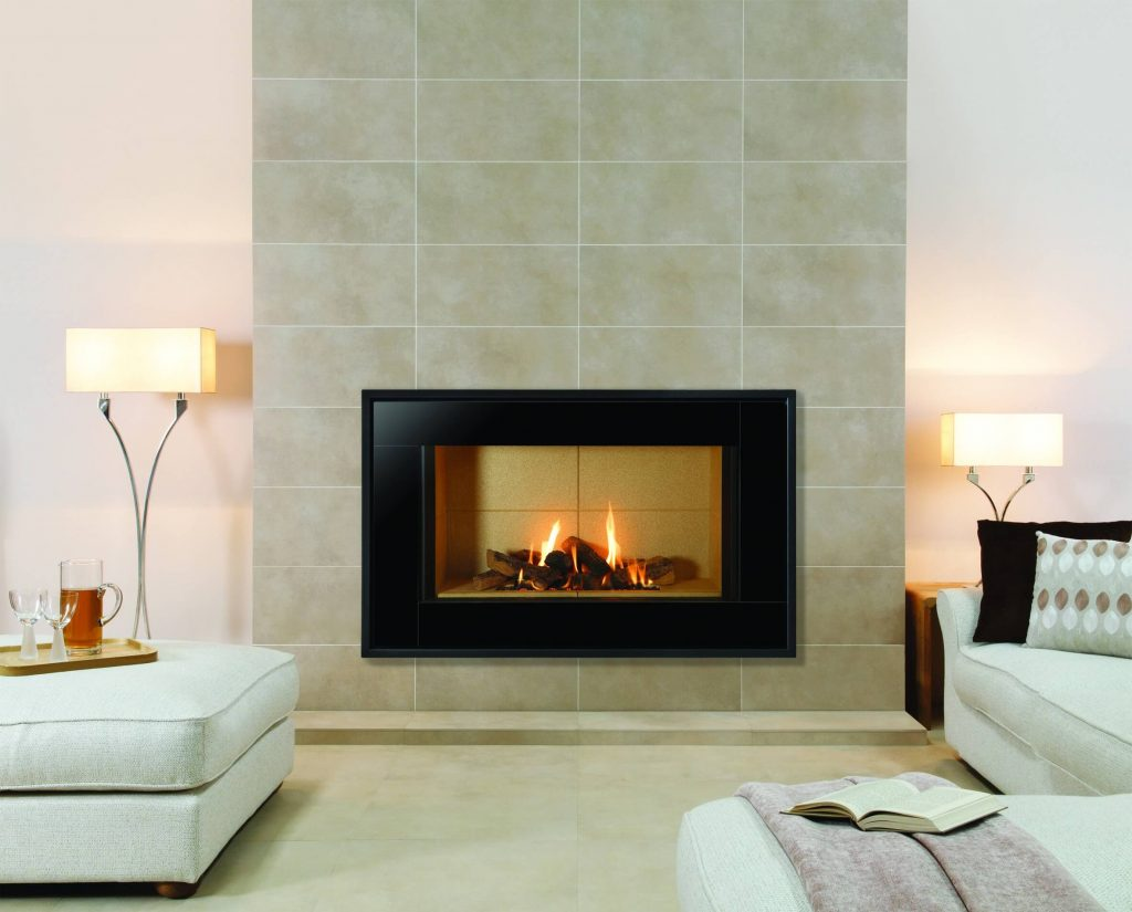 19 stylish fireplace tile ideas for your fireplace surround - Build contemporary fireplace ideas ...