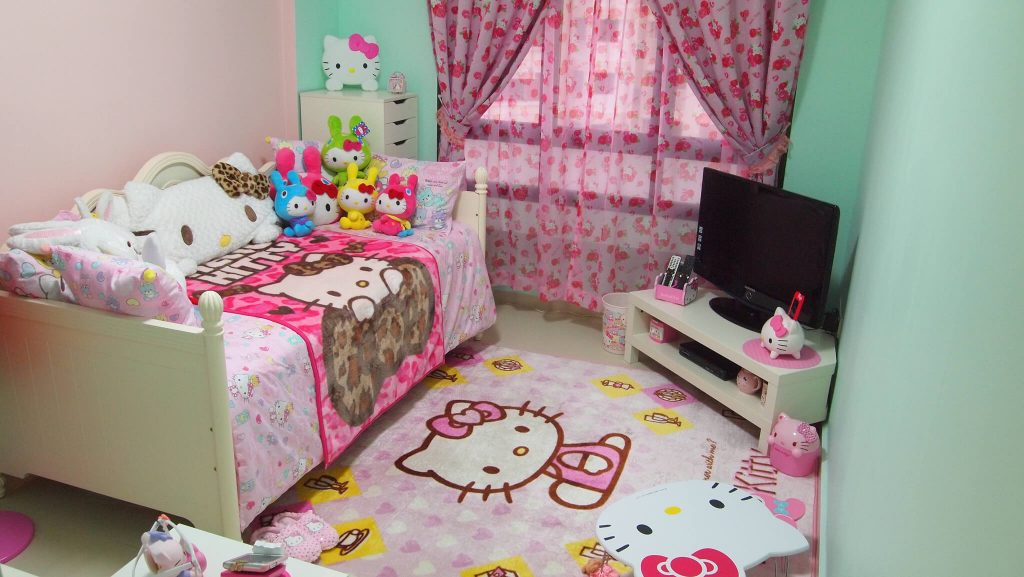 hello kitty bedroom 25 adorable hello kitty bedroom decoration ideas for 11779
