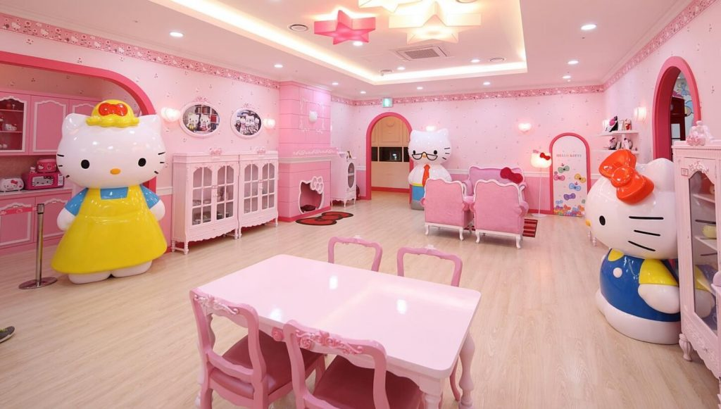 25 Adorable Hello Kitty Bedroom Decoration Ideas for Girls!
