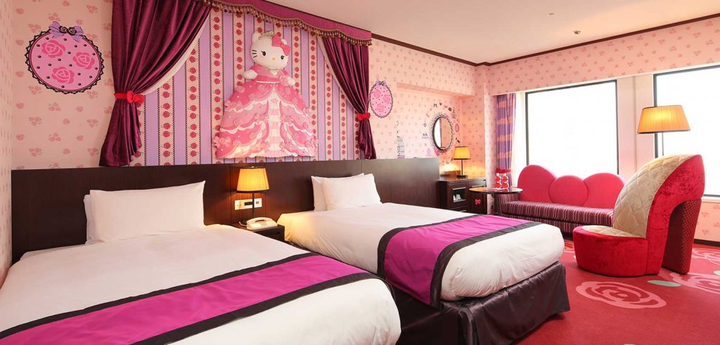 appealing hello kitty living room | 25 Adorable Hello Kitty Bedroom Decoration Ideas for Girls