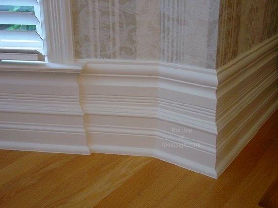 Baseboard Styles Every Homeowner Should Know About - 6 inch floor trim