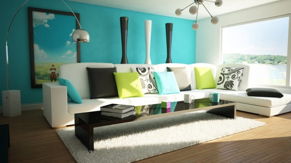 Superior Turquoise Bedroom Walls