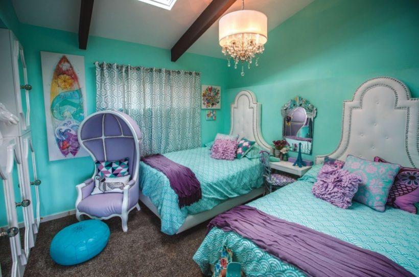 Turquoise Room Ideas - Luxury Turquoise Bedroom Haammss