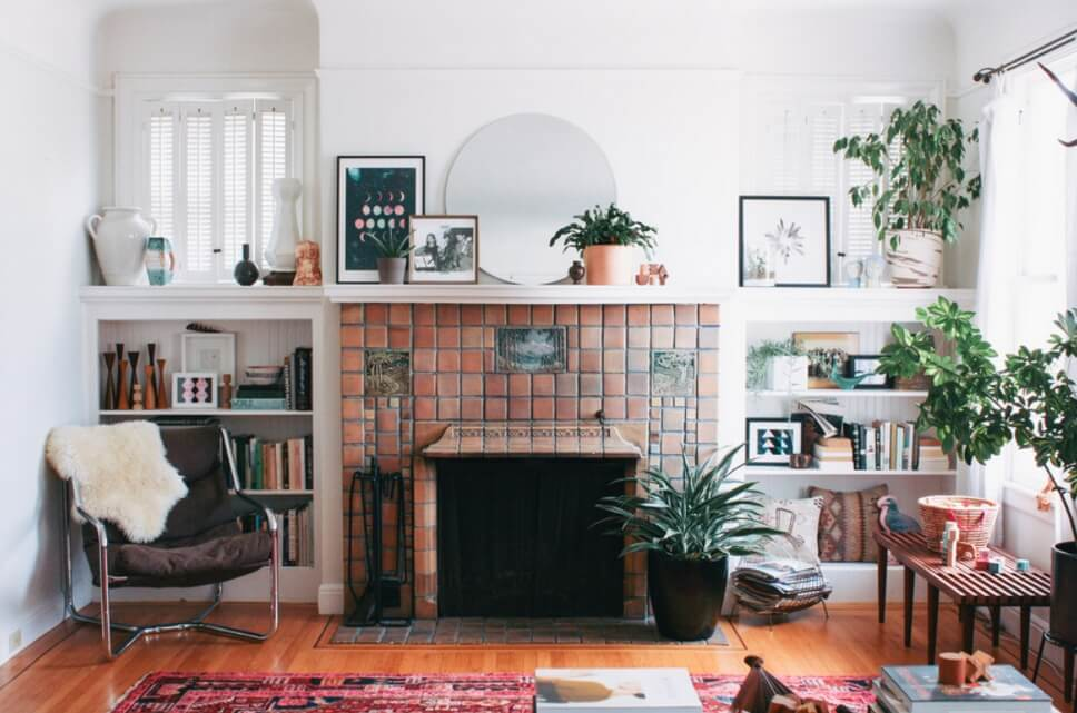 Mosaic Fireplace Tiles