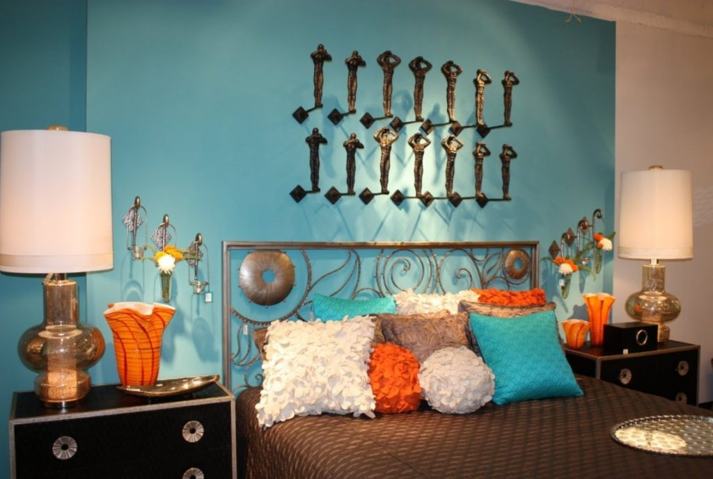 turquoise bedroom decor. Turquoise and Orange Room Color Ideas Inspiration to Brighten Up Your House