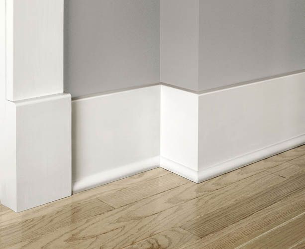 12 baseboard styles every homeowner should know about for Mid century modern baseboard