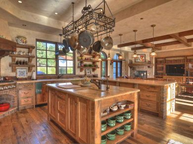 23 Rustic Kitchen Cabinet Ideas You'Ll Want To Copy - Rustic Kitchen Spanish Style Kevinpricedesigns