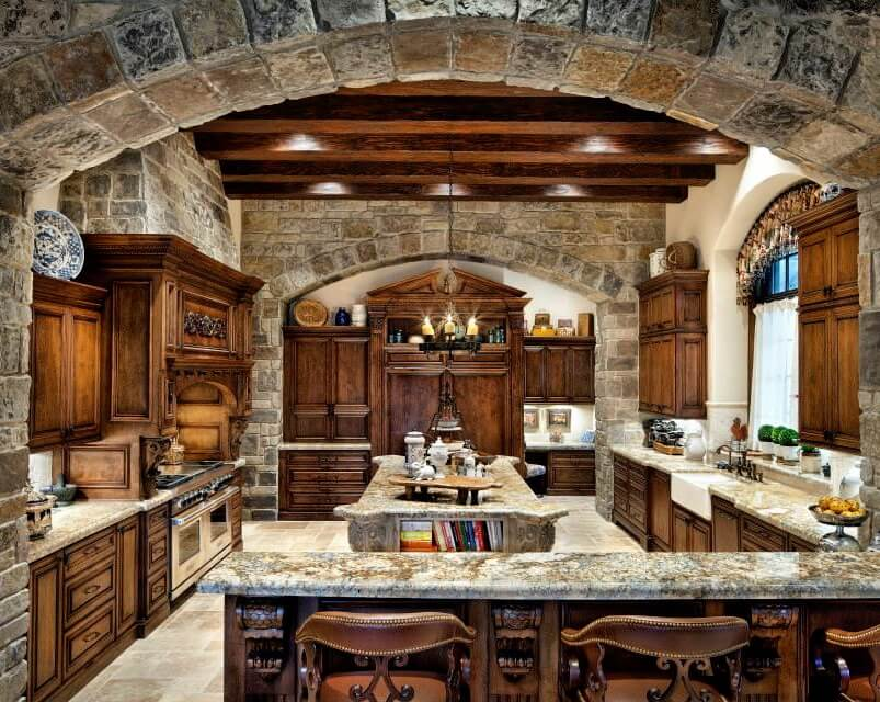 Spanish Hacienda Style Kitchens