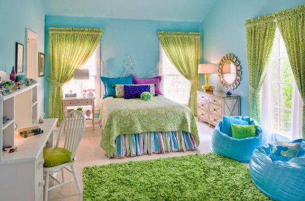 turquoise and grey bedroom ideas