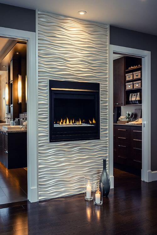 Simple Fireplace Tile Ideas