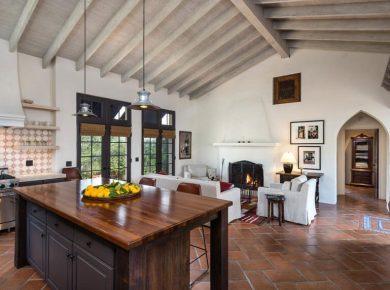 Spanish Style Kitchen - Wood Countertops Spanish Style Kitchen Sbdigs