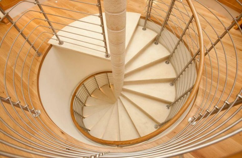 spiral staircase calculation