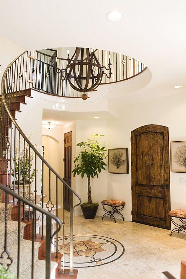 Spanish Style Spiral Staircase