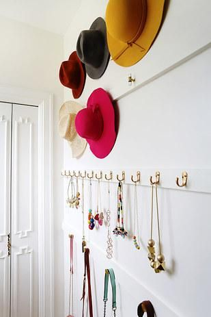 diy hat storage
