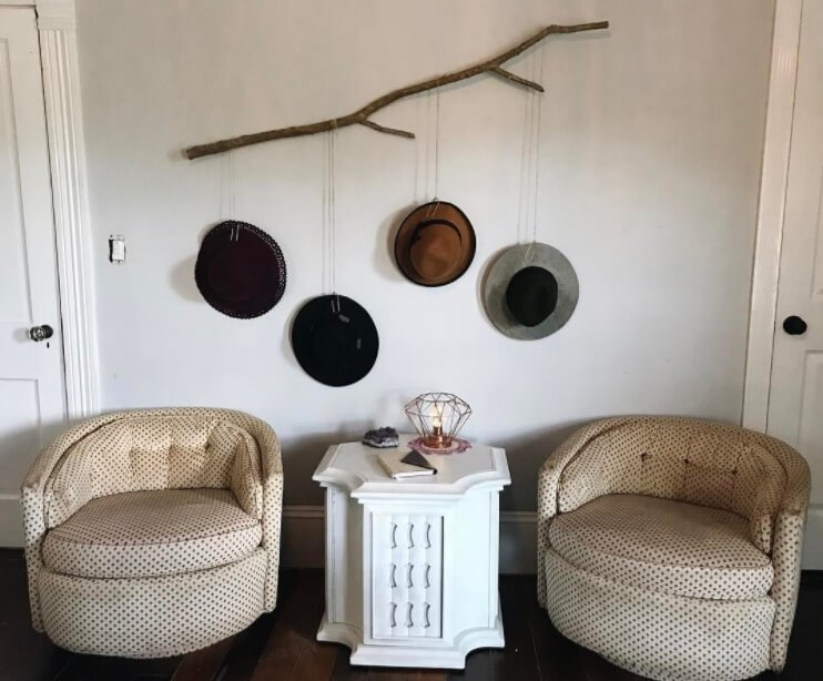 964e9d3729b 50+ Finest DIY Hat Rack Ideas for Your Hat Organizer