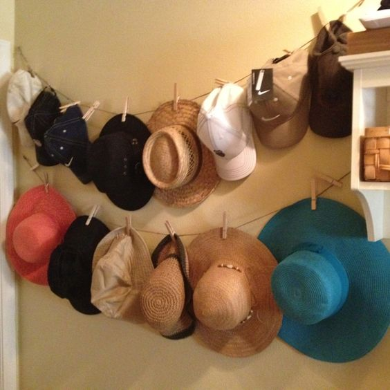 hat hanger for wall