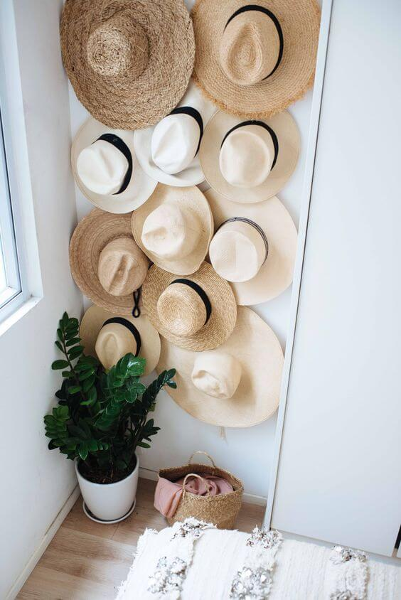 19 Easy And Simple Diy Hat Rack Ideas For Your Sweet Home