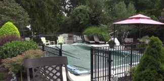 Winterizing above ground pool