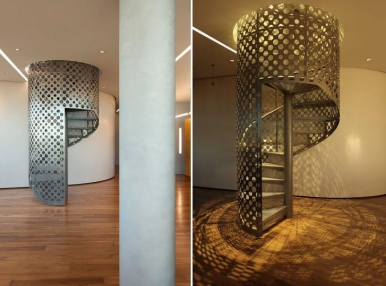 Safety Spiral Staircase