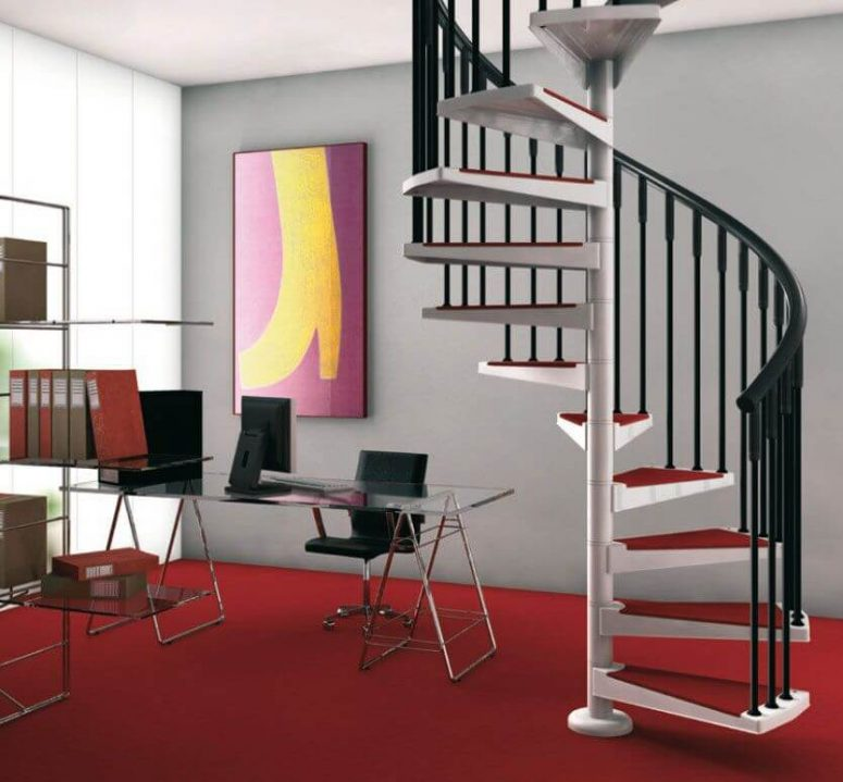 50+ Uniquely Awesome Spiral Staircase Ideas for Your Home on double floor house design, double storey house in selangor, simple model houses design, dreamhouse design, 3 storey house design, double storey house in south africa, 3-story commercial building design, bungalow design, townhouse design, double storey office, double wide mobile home with porch, 2 story office building design, modern residential building design, double storey terrace house, double storey garden design, double storey pool, 2 storey exterior design, double story home exterior design, two storey house design, west coast modern design,