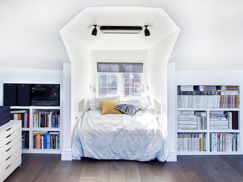 low ceiling attic bedroom ideas