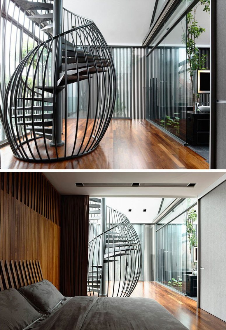 25 Best Ideas About Modern Staircase On Pinterest: 50+ Uniquely Awesome Spiral Staircase Ideas For Your Home