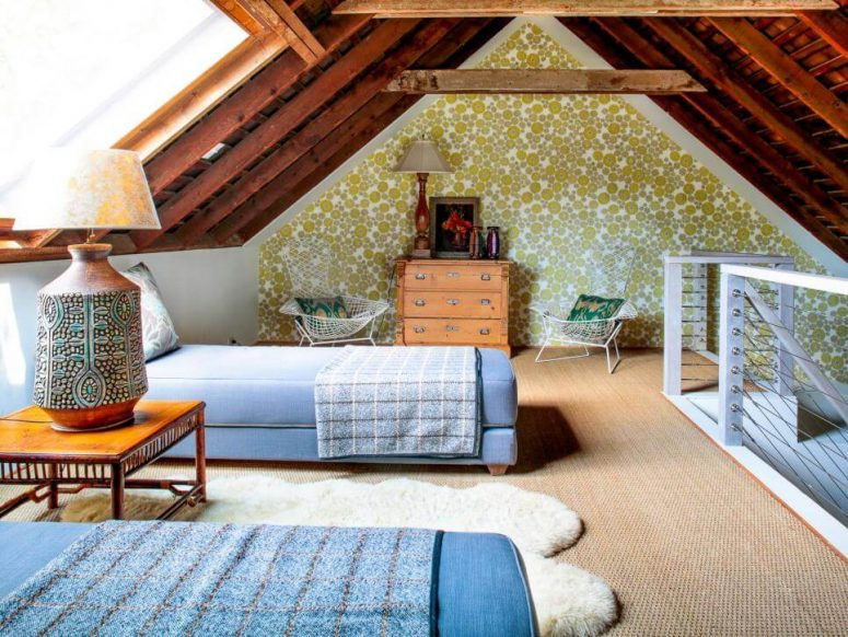 attic bedroom storage ideas