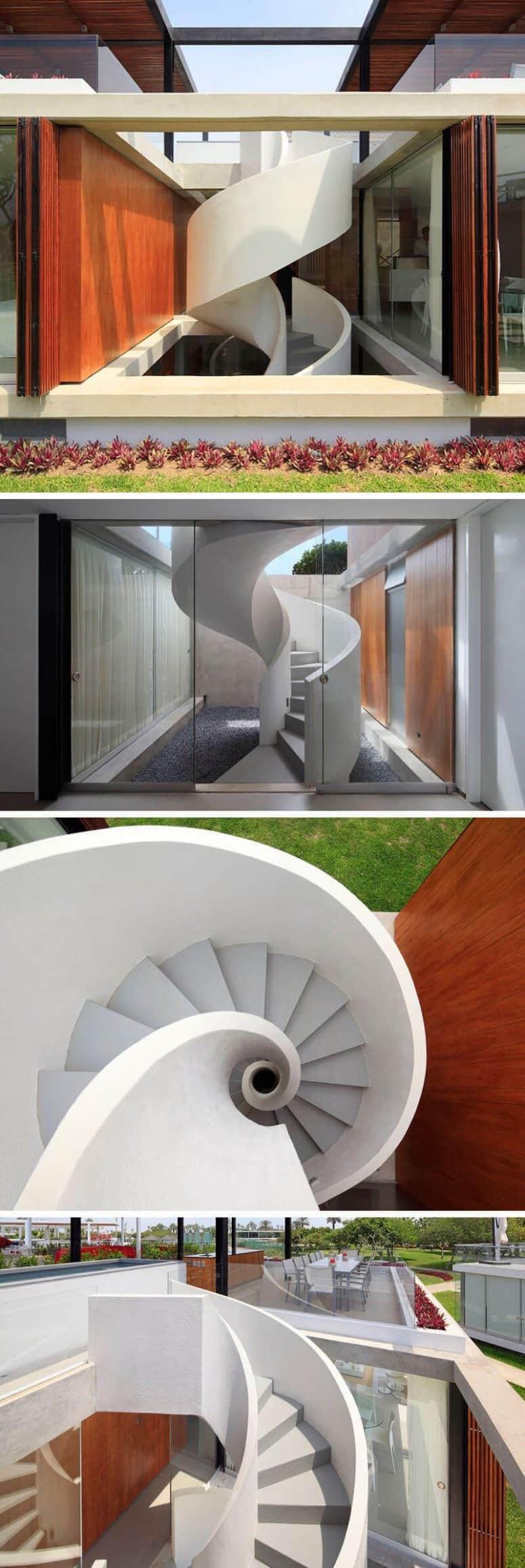 spiral staircase calculation