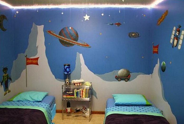 Delicieux Space Themed Bedroom For Adults