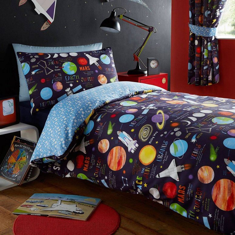 solar system bedroom decor