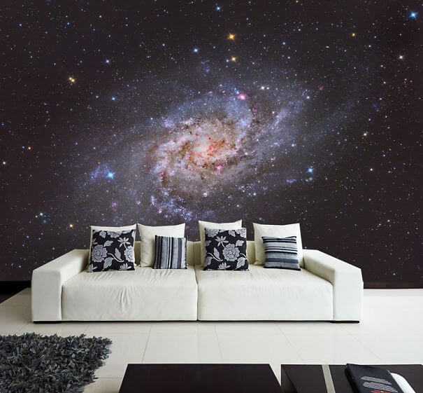 space themed wall decals