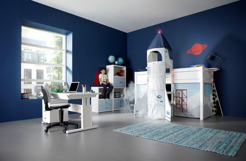 Excellent 50 Space Themed Bedroom Ideas For Kids And Adults Beatyapartments Chair Design Images Beatyapartmentscom