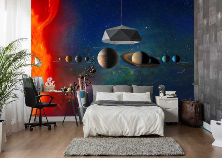 40 Space Themed Bedroom Ideas For Kids And Adults Awesome Themed Bedrooms