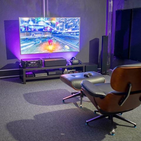 Futuristic Video Game Room Ideas