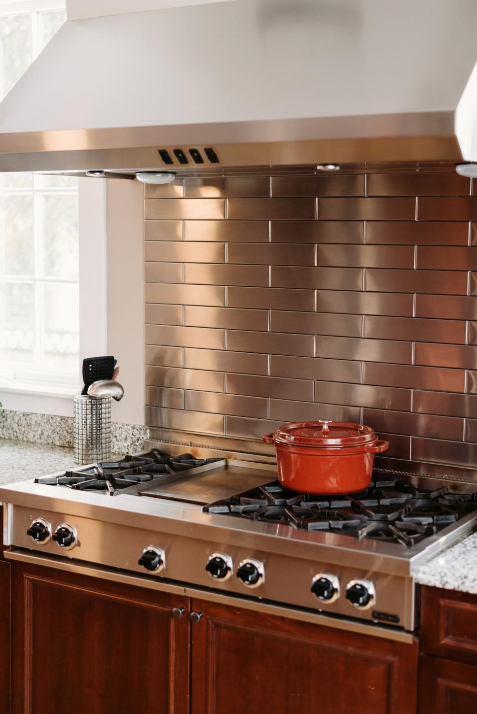 metal backsplash for kitchen stainless steel backsplash the pros the cons and the ideas 7445