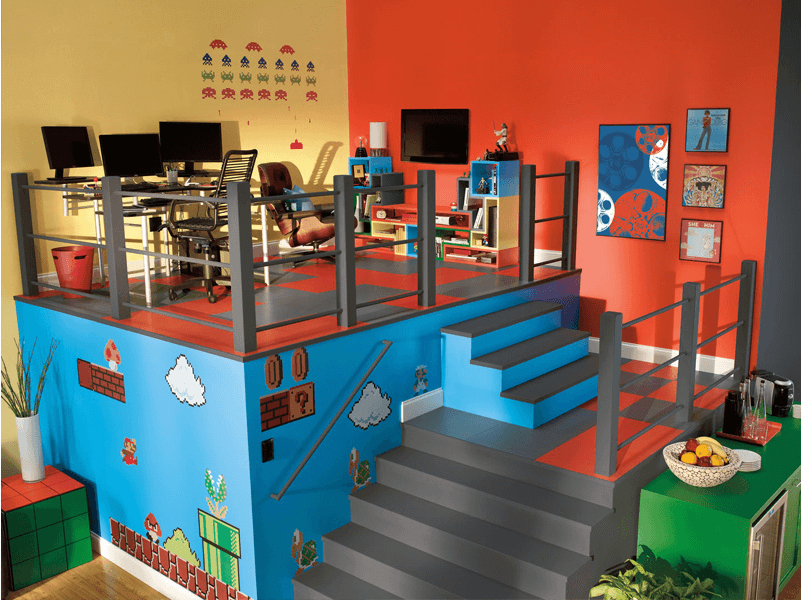 Creative Game Room Design Ideas Part 93