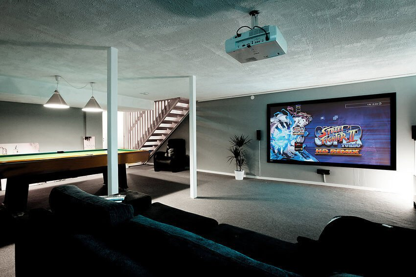 Basement Gaming Room Ideas