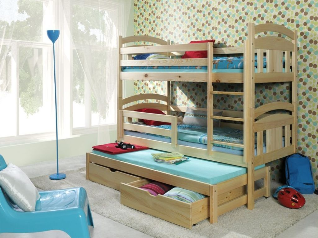 White shorty modern bunk beds with shelf buying the for Modern bunk beds for kids