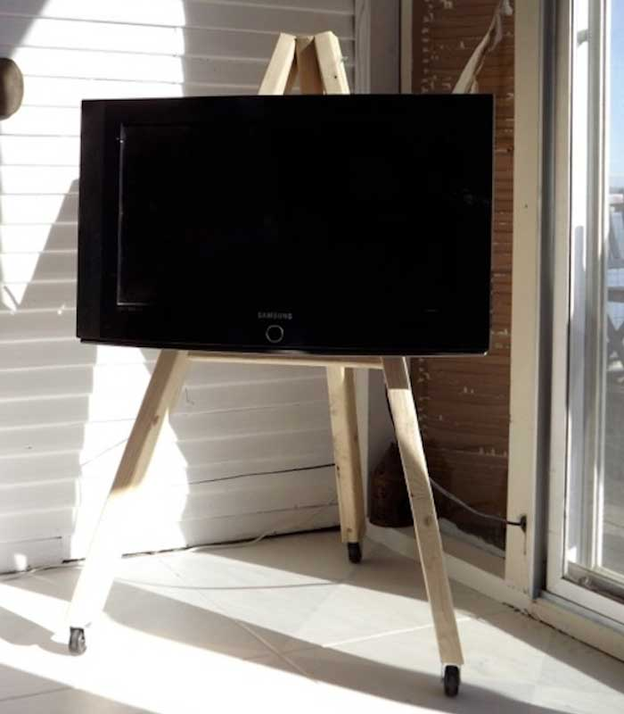 How To Build A Tv Stand For Flat Screen