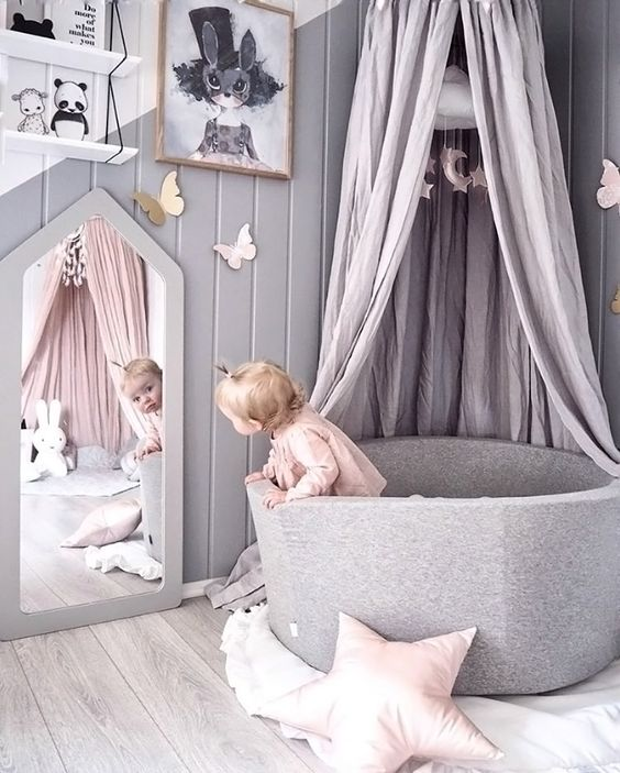 33 cute nursery for adorable baby girl room ideas Infant girl room ideas