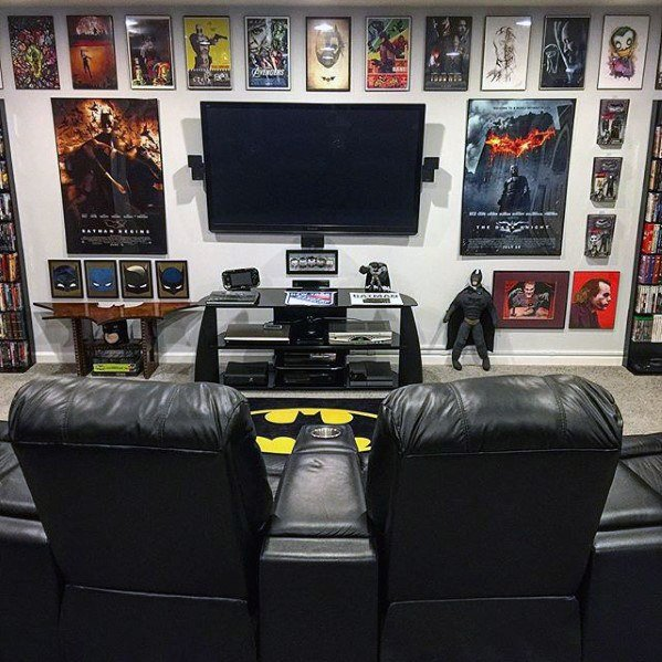 Gaming Room Corner