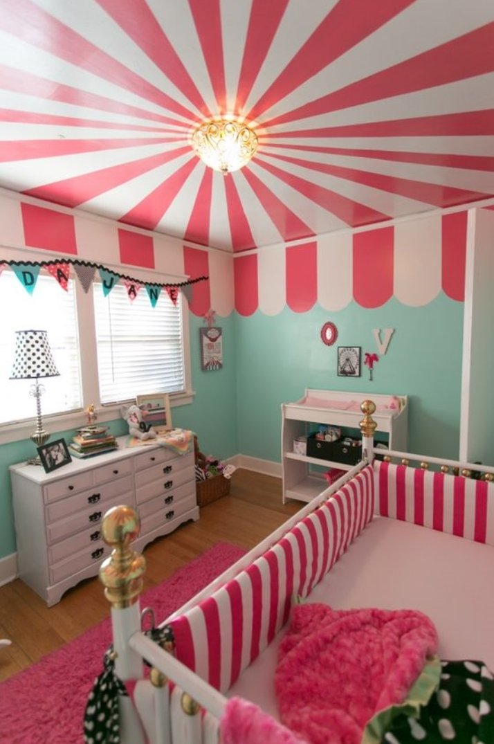 carnival baby girl room ideas