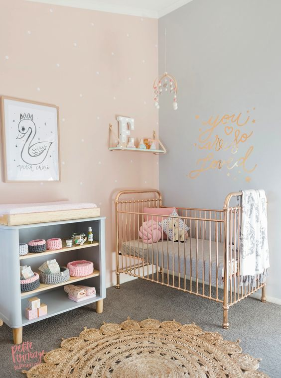 Fantastic 33 Most Adorable Nursery Ideas For Your Baby Girl Home Interior And Landscaping Eliaenasavecom