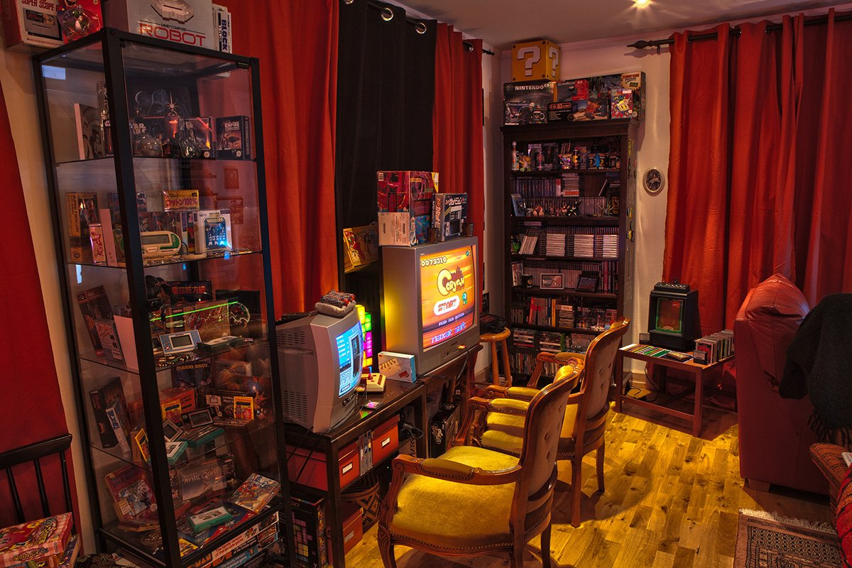 Best Setup Of Video Game Room Ideas A Gamers Guide - Retro games room ideas