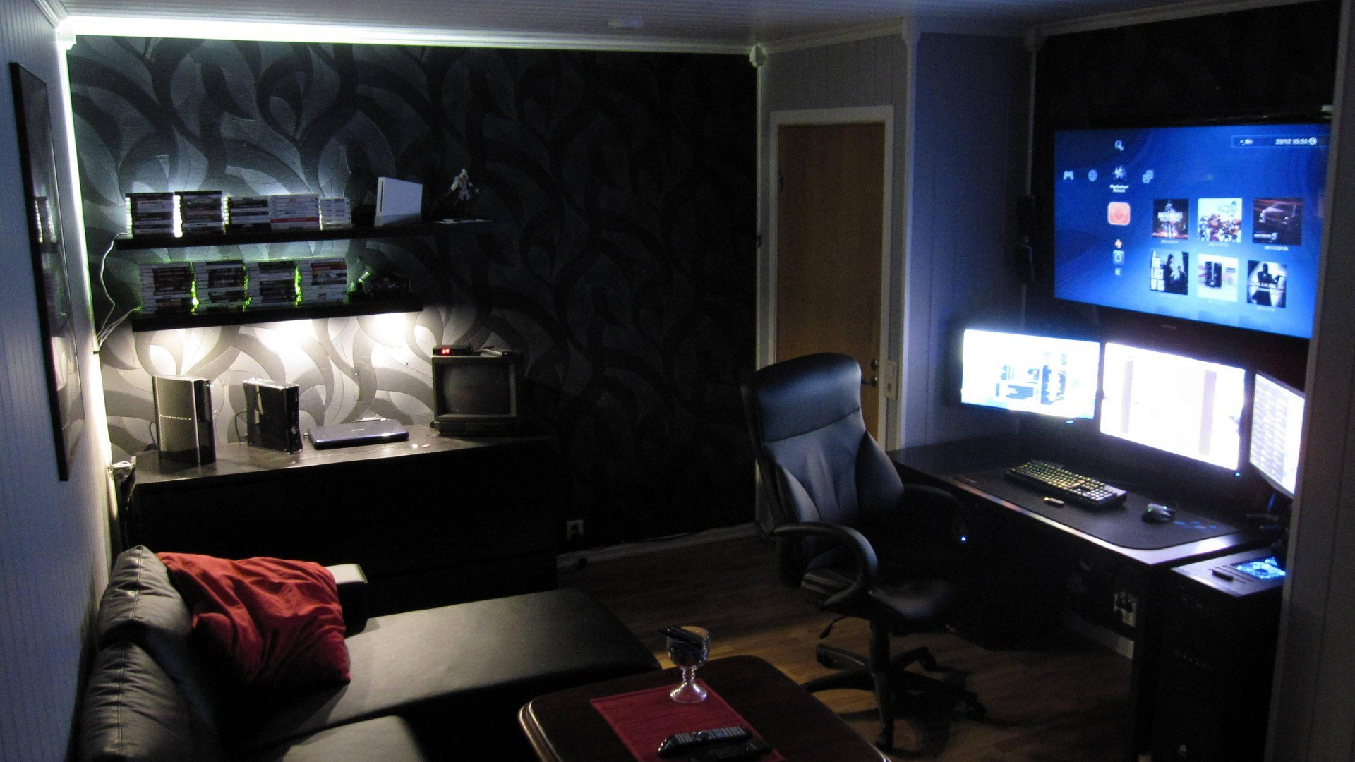 Most Popular Video Game Room Ideas [Feel the Awesome Game Play] tag: game room ideas diy, game room ideas for adults, game room ideas for a small room, game room .