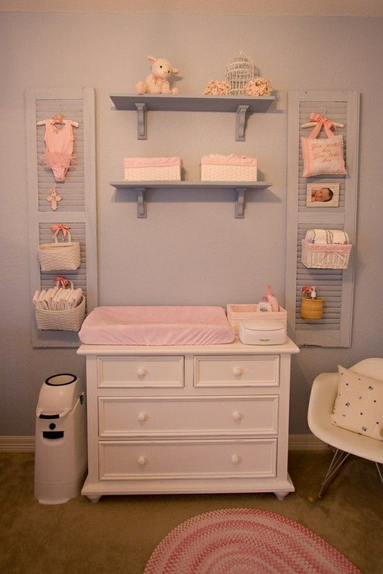 Cute Nursery Ideas Part - 27: 22. Baby Girl Room Essentials