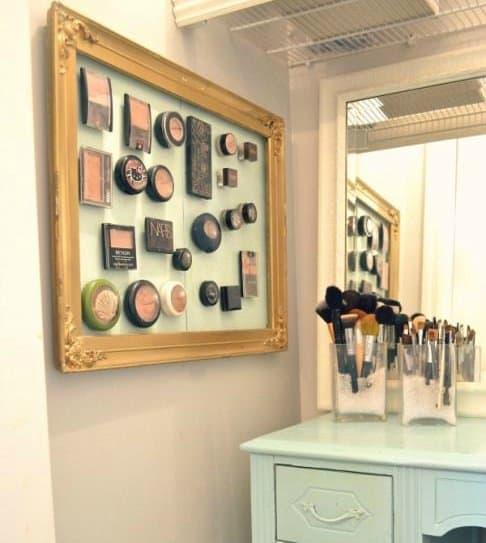 Genial Diy Makeup Organizer Cardboard